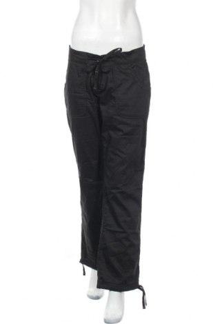 Дамски спортен панталон Oxylane, Размер M, Цвят Черен, 75% памук, 25% полиестер, Цена 21,32лв.
