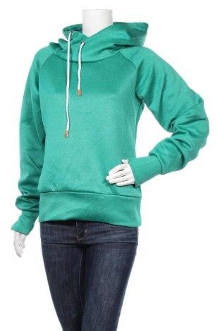 Дамски суичър, Размер L, Цвят Зелен, Цена 13,65лв.