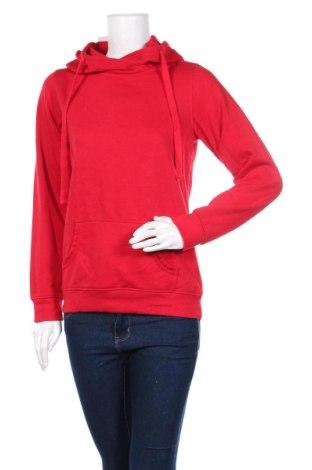 Дамски суичър, Размер M, Цвят Червен, Полиестер, памук, Цена 14,44лв.