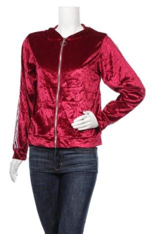 Дамски суичър, Размер L, Цвят Червен, 65% памук, 35% полиестер, Цена 6,83лв.