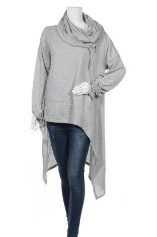 Дамски суичър, Размер XL, Цвят Сив, Цена 18,48лв.