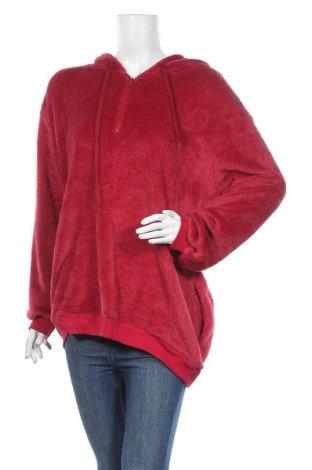 Дамски суичър, Размер XL, Цвят Червен, Цена 18,43лв.