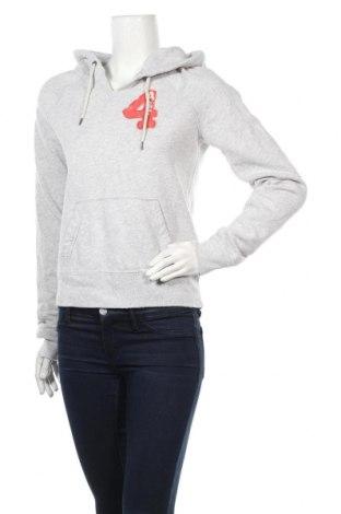 Дамски суичър Abercrombie & Fitch, Размер L, Цвят Сив, 60% памук, 40% полиестер, Цена 23,91лв.