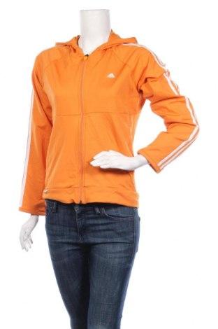 Дамски суичър Adidas, Размер L, Цвят Оранжев, 91% полиамид, 9% еластан, Цена 22,05лв.