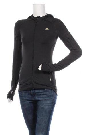 Дамски суичър Adidas, Размер S, Цвят Черен, Полиестер, еластан, Цена 36,75лв.