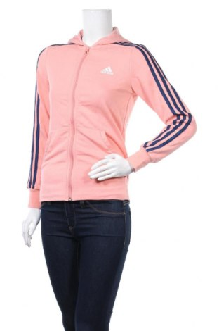 Дамски суичър Adidas, Размер S, Цвят Розов, Цена 31,92лв.