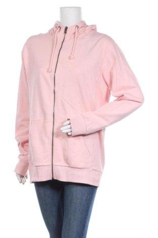 Дамски суичър Cotton On, Размер L, Цвят Розов, Памук, Цена 24,99лв.