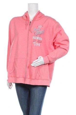 Дамски суичър Gildan, Размер XXL, Цвят Розов, 60% полиестер, 40% памук, Цена 11,97лв.