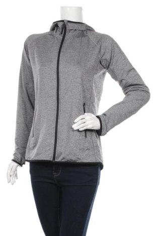 Дамски суичър H&M Sport, Размер L, Цвят Сив, 91% полиестер, 9% еластан, Цена 15,70лв.