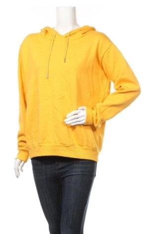 Дамски суичър Ichi, Размер XL, Цвят Жълт, Памук, Цена 24,57лв.
