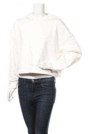 Дамски суичър Noisy May, Размер M, Цвят Бял, 85% памук, 15% полиестер, Цена 41,54лв.