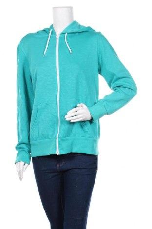 Дамски суичър Now, Размер XL, Цвят Зелен, Полиестер, памук, Цена 14,70лв.