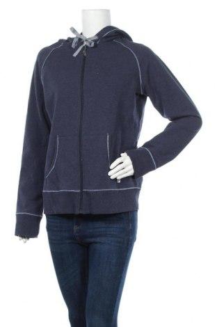 Дамски суичър Side By Side, Размер XL, Цвят Син, 63% памук, 28% полиестер, 5% памук, 4% еластан, Цена 18,48лв.