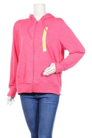 Дамски суичър Sports, Размер XL, Цвят Розов, Полиестер, памук, Цена 21,84лв.