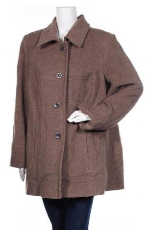 Дамско палто Atelier GS, Размер XXL, Цвят Кафяв, 60% вълна, 30% полиестер, 10% кашмир, Цена 56,70лв.