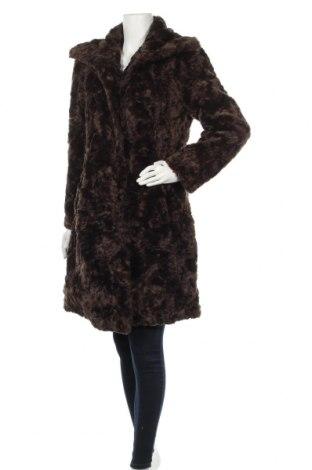 Дамско палто KappAhl, Размер M, Цвят Кафяв, Акрил, Цена 27,72лв.