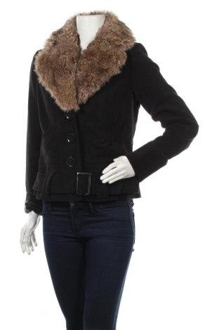 Дамско палто Melrose, Размер M, Цвят Черен, Полиестер, вискоза, полиакрил, еластан, Цена 53,24лв.