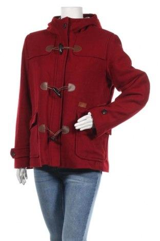 Дамско палто Peak Performance, Размер L, Цвят Червен, 80% вълна, 20% полиамид, Цена 45,49лв.