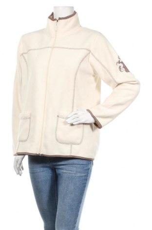 Дамско поларено горнище Lea H., Размер XL, Цвят Екрю, Полиестер, Цена 23,21лв.
