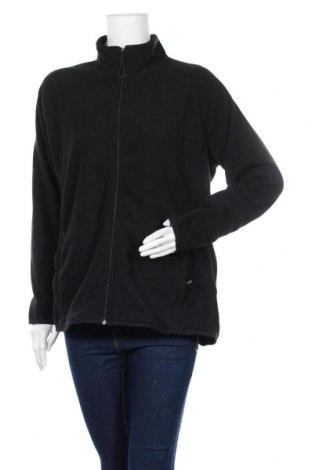 Дамско поларено горнище Target, Размер XL, Цвят Черен, Полиестер, Цена 14,44лв.