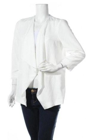 Γυναικείο σακάκι Dorothy Perkins, Μέγεθος L, Χρώμα Λευκό, Πολυεστέρας, Τιμή 7,48€