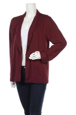 Дамско сако Forever 21, Размер M, Цвят Червен, Вискоза, Цена 8,37лв.