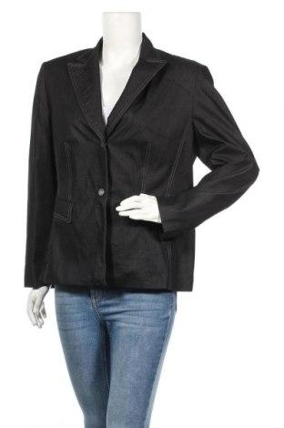 Дамско сако Gerry Weber, Размер L, Цвят Син, 60% памук, 35% полиестер, 5% еластан, Цена 17,06лв.