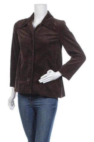 Дамско сако J.Jill, Размер XS, Цвят Кафяв, 100% памук, Цена 6,28лв.