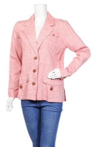Дамско сако Monterey Bay, Размер M, Цвят Розов, 55% лен, 45% вискоза, Цена 41,58лв.