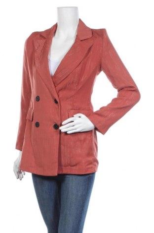 Дамско сако Scarlet Jones, Размер S, Цвят Оранжев, Полиестер, Цена 16,79лв.