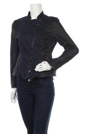 Γυναικείο μπουφάν G.W., Μέγεθος L, Χρώμα Μπλέ, 97% βαμβάκι, 3% ελαστάνη, Τιμή 13,36€