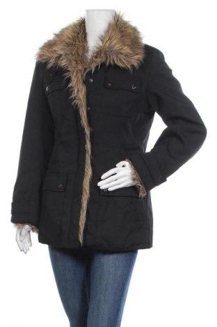 Γυναικείο μπουφάν KappAhl, Μέγεθος S, Χρώμα Μαύρο, 70% πολυαμίδη, 30% βαμβάκι, Τιμή 6,82€
