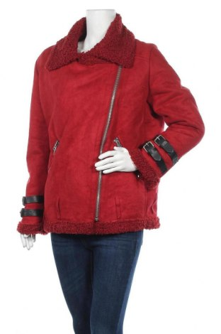 Γυναικείο μπουφάν Laura Jo, Μέγεθος M, Χρώμα Κόκκινο, Πολυεστέρας, Τιμή 35,07€