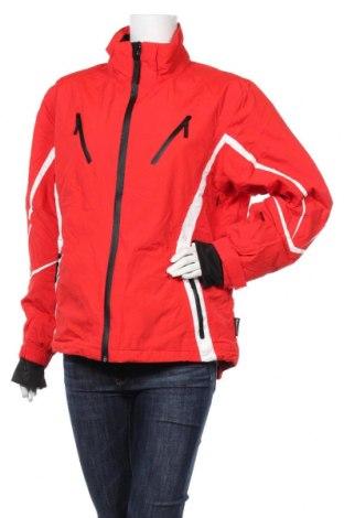 Дамско яке за зимни спортове, Размер XL, Цвят Червен, Полиестер, Цена 43,37лв.