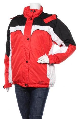 Дамско яке за зимни спортове Athletic Works, Размер L, Цвят Червен, Полиестер, Цена 43,37лв.