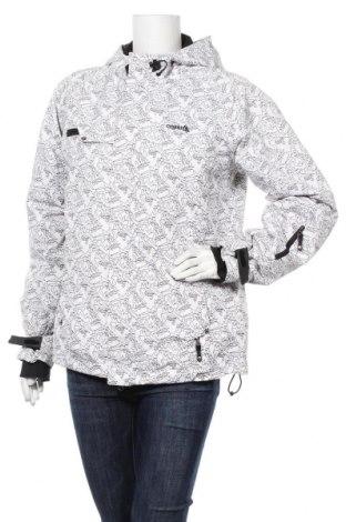 Дамско яке за зимни спортове Cygnus, Размер L, Цвят Бял, Полиестер, Цена 45,57лв.