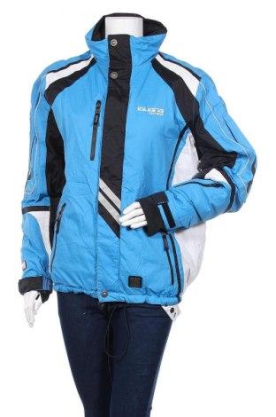 Дамско яке за зимни спортове Iguana, Размер L, Цвят Син, Полиестер, Цена 45,57лв.