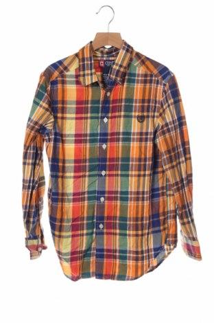 Детска риза Chaps, Размер 10-11y/ 146-152 см, Цвят Многоцветен, 60% памук, 40% полиестер, Цена 11,81лв.