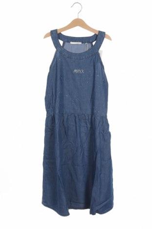 Παιδικό φόρεμα Mexx, Μέγεθος 13-14y/ 164-168 εκ., Χρώμα Μπλέ, 64% βαμβάκι, 36% τενσελ, Τιμή 15,98€