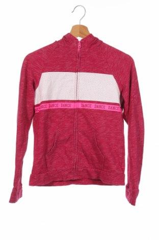 Детски суичър Danskin, Размер 14-15y/ 168-170 см, Цвят Розов, 58% памук, 42% полиестер, Цена 9,92лв.