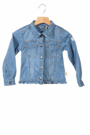 Παιδικό τζίν μπουφάν Belly Button, Μέγεθος 2-3y/ 98-104 εκ., Χρώμα Μπλέ, Βαμβάκι, Τιμή 14,20€