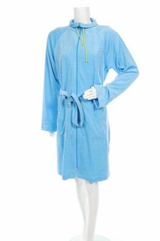 Халат Vossen, Размер M, Цвят Син, 50% памук, 50% полиестер, Цена 95,14лв.