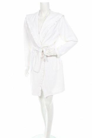 Халат SKNB, Размер S, Цвят Бял, 80% памук, 20% полиестер, Цена 65,25лв.