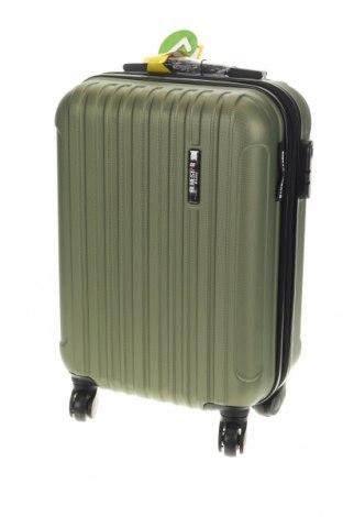 Куфар Blue Star, Цвят Зелен, Полиуретан, Цена 89,08лв.
