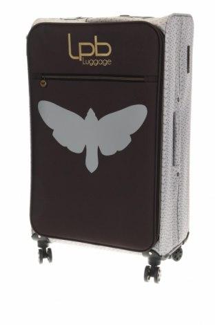 Куфар LPB Les P'tites Bombes, Цвят Сив, Текстил, Цена 173,40лв.