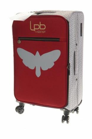 Куфар LPB Les P'tites Bombes, Цвят Сив, Текстил, Цена 216,24лв.