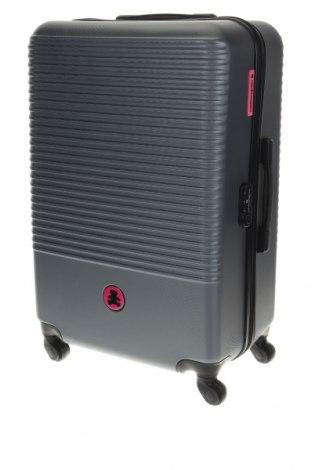 Куфар Lulu Castagnette, Цвят Сив, Полиуретан, Цена 98,60лв.