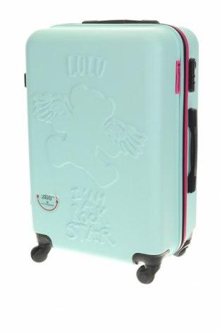 Куфар Lulu Castagnette, Цвят Син, Полиуретан, Цена 96,56лв.