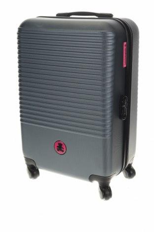 Куфар Lulu Castagnette, Цвят Сив, Полиуретан, Цена 91,12лв.