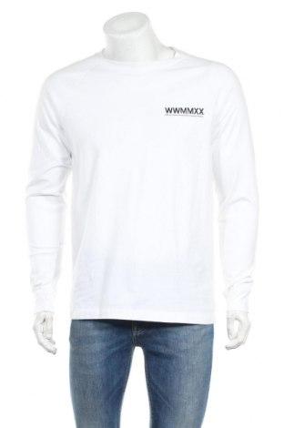 Ανδρική μπλούζα Wood Wood, Μέγεθος M, Χρώμα Λευκό, Βαμβάκι, Τιμή 46,08€